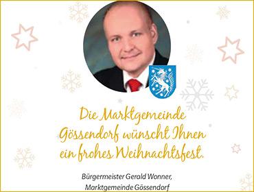 Rechteck Banner 370x280 | GESELLSCHAFT | Weihnachtsgruß Gossendorf