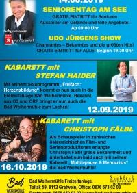 Sommerprogramm im Bad Weihermühle