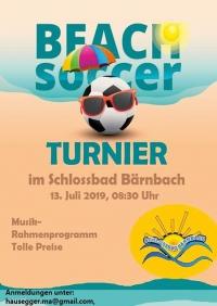 Beach Soccer Turnier