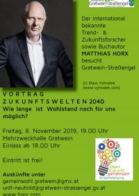 Vortrag Zukunftswelten 2040